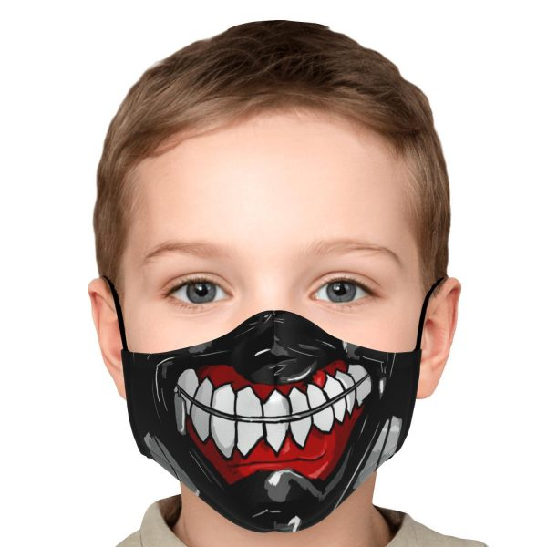 kanekis mask v3 premium carbon filter face mask 436501 1 - Tokyo Ghoul Merch Store