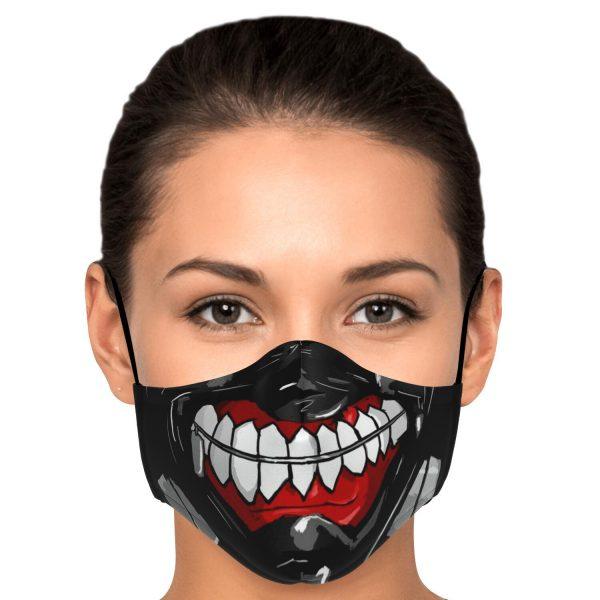 kanekis mask v3 premium carbon filter face mask 752273 1 - Tokyo Ghoul Merch Store