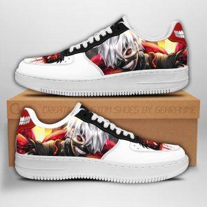 Tokyo Ghoul Ken Kaneki Nike Air Force ShoesOfficial Tokyo Ghoul Merch