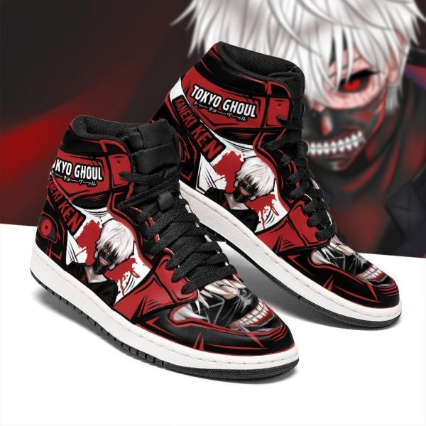 Tokyo Ghoul Ken Kaneki Jordan Sneakers No.1Official Tokyo Ghoul Merch