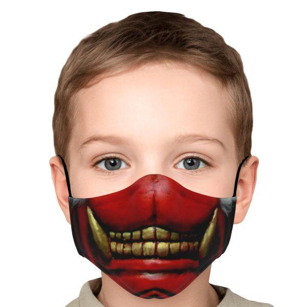 koma mask tokyo ghoul premium carbon filter face mask 678660 1 - Tokyo Ghoul Merch Store