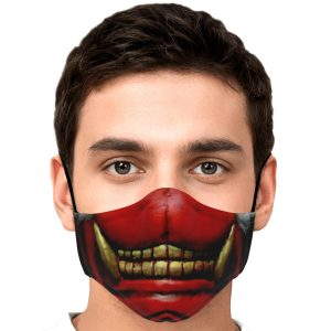 Koma Mask Tokyo Ghoul Premium Carbon Filter Face MaskOfficial Tokyo Ghoul Merch