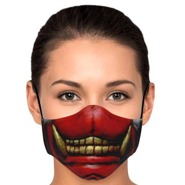 koma mask tokyo ghoul premium carbon filter face mask 917903 1 - Tokyo Ghoul Merch Store
