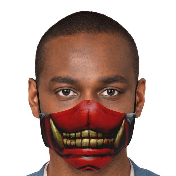 Koma Mask Tokyo Ghoul Premium Carbon Filter Face MaskOfficial Tokyo Ghoul Merch