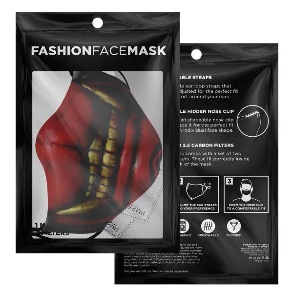 koma mask tokyo ghoul premium carbon filter face mask 932265 1 - Tokyo Ghoul Merch Store
