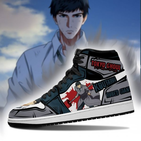 Tokyo Ghoul Koutarou Amon Jordan Sneakers No.1Official Tokyo Ghoul Merch