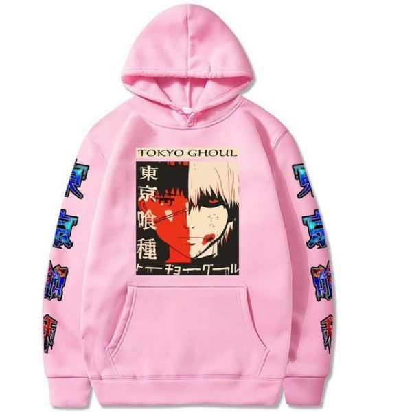 2021 Tokyo Ghoul Hoodie Unisex Style No.7Official Tokyo Ghoul Merch