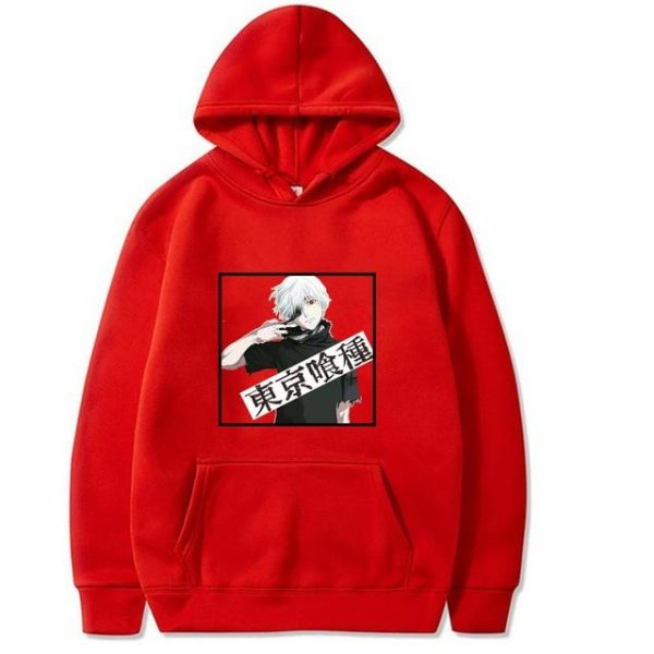 2021 Tokyo Ghoul Hoodie Unisex Style No.12Official Tokyo Ghoul Merch
