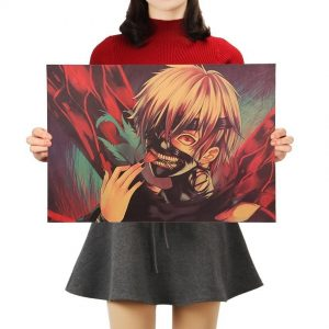 Tokyo Ghoul Vintage Kraft Paper Poster 50.5x35cmOfficial Tokyo Ghoul Merch