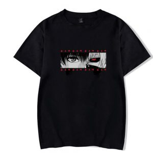 EYES Tokyo Ghoul T-shirt Fashion Summer 2021Official Tokyo Ghoul Merch
