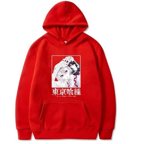 2021 Tokyo Ghoul Hoodie Unisex Style No.6Official Tokyo Ghoul Merch