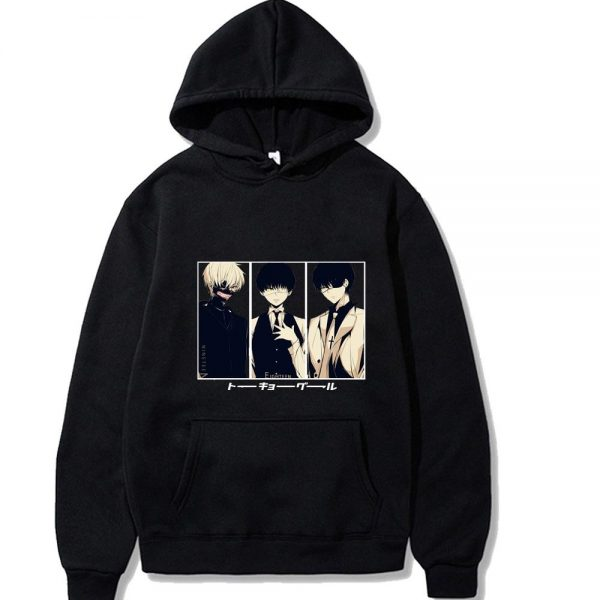 2021 Tokyo Ghoul Hoodie Unisex Style No.4Official Tokyo Ghoul Merch