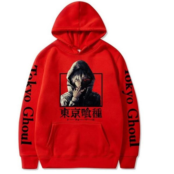 2021 Tokyo Ghoul Hoodie Unisex Style No.2Official Tokyo Ghoul Merch