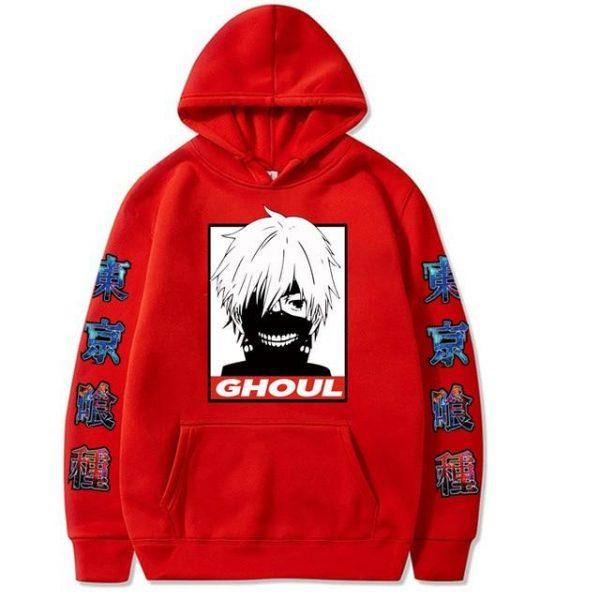 2021 Tokyo Ghoul Hoodie Hip HopOfficial Tokyo Ghoul Merch