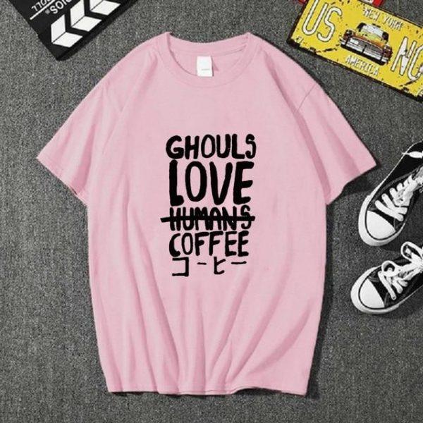 Uniex Cloths Anime Tokyo Ghoul Short Sleeve Casual T-shirtOfficial Tokyo Ghoul Merch