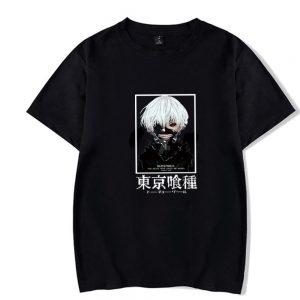 Tokyo Ghoul T-shirt Fashion Summer 2021 No.8Official Tokyo Ghoul Merch