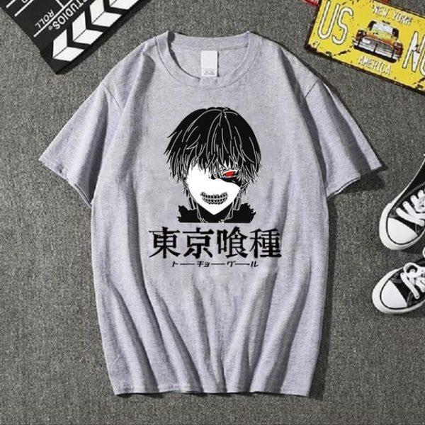 Tokyo Ghoul T-shirt Fashion Summer 2021 No.9Official Tokyo Ghoul Merch