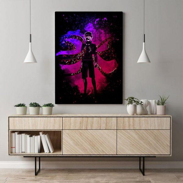 Kaneki Ken Tokyo Ghoul Poster Canvas Wall Art 2021Official Tokyo Ghoul Merch