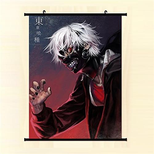 Anime Manga Tokyo Ghoul Wall Scroll Painting 40x60cmOfficial Tokyo Ghoul Merch
