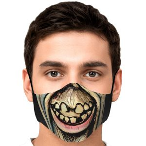Scary Face Zombie Tokyo Ghoul Premium Carbon Filter Face MaskOfficial Tokyo Ghoul Merch