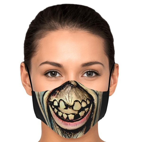 scary face zombie tokyo ghoul premium carbon filter face mask 574426 1 - Tokyo Ghoul Merch Store