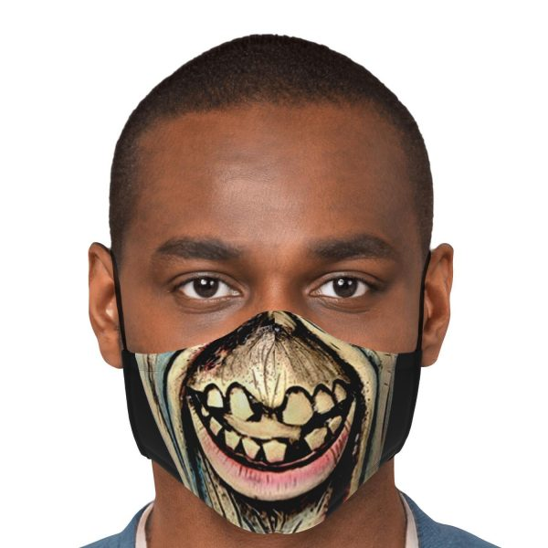 scary face zombie tokyo ghoul premium carbon filter face mask 622631 1 - Tokyo Ghoul Merch Store