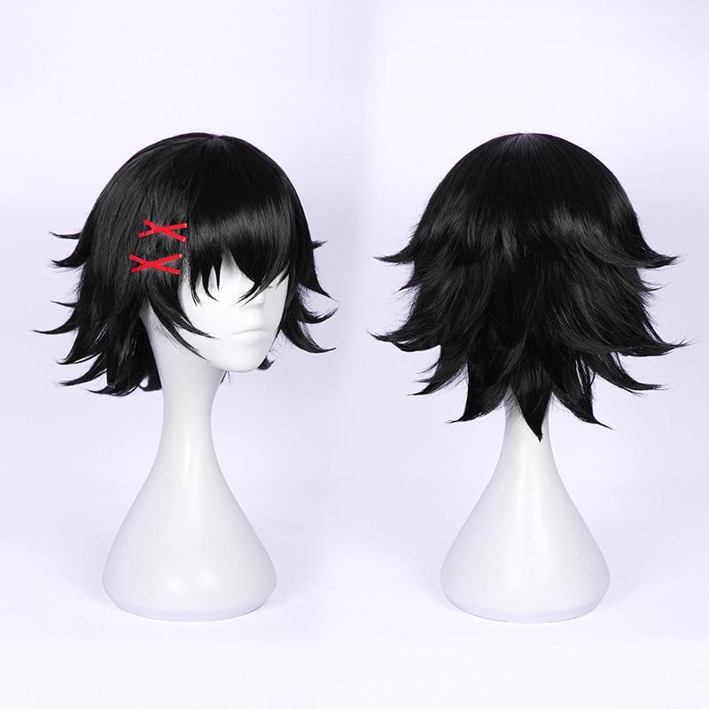 Tokyo Ghoul Cosplay - Juzo Suzuya Short Black Heat Resistant Hair Cosplay Costume Wig