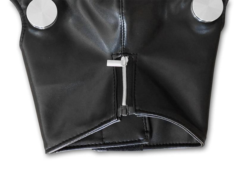 Tokyo Ghoul Face Mask - Kaneki Ken Adjustable Zipper PU Leather Mask