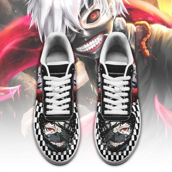 Tokyo Ghoul Ken Kaneki Air Force ShoesOfficial Tokyo Ghoul Merch