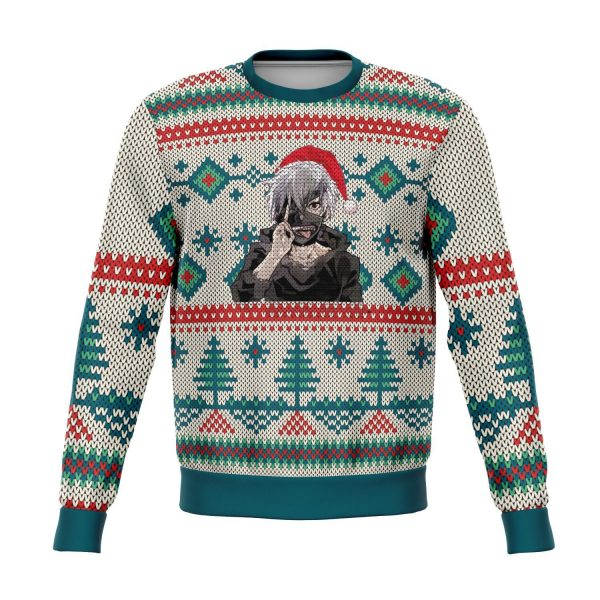 tokyo ghoul premium ugly christmas sweater 438776 1 - Tokyo Ghoul Merch Store