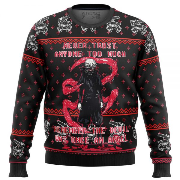 tokyo ghoul trust premium ugly christmas sweater 305114 1 - Tokyo Ghoul Merch Store