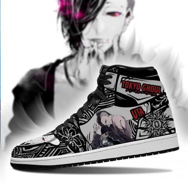 Tokyo Ghoul Uta Jordan Sneakers No.1Official Tokyo Ghoul Merch