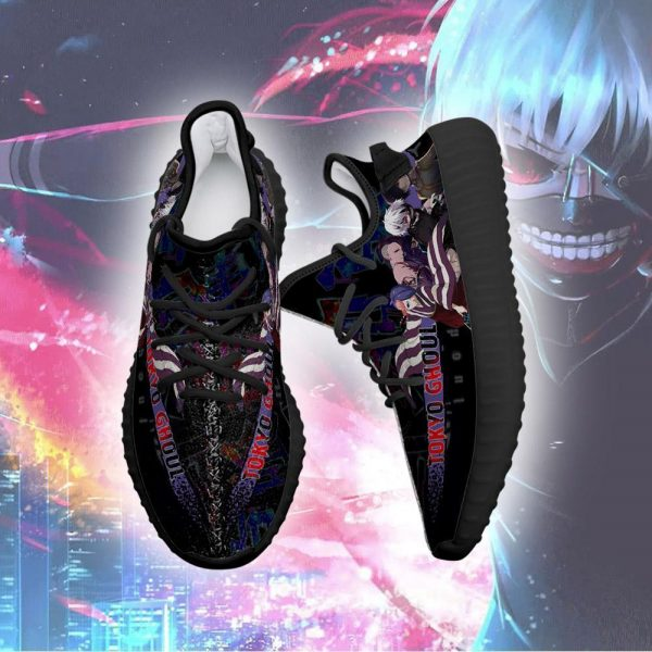Tokyo Ghoul Yeezy Anime Sneakers Shoes Fan Gift Idea TT04Official Tokyo Ghoul Merch