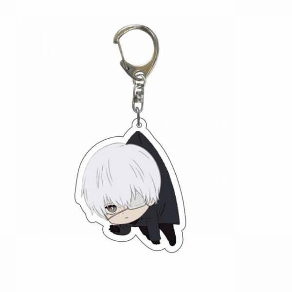 Japan Anime Tokyo Ghoul Keychain Lovely Kaneki Ken Figure Acrylic Pendant Key Chain Cartoon Character Key 8.jpg 640x640 8 - Tokyo Ghoul Merch Store