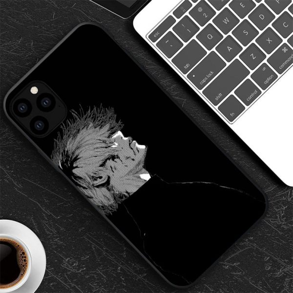 Japanese anime Tokyo Ghoul Japan Suave TPU Phone Case For iPhone XR X XS 11 12 3 - Tokyo Ghoul Merch Store