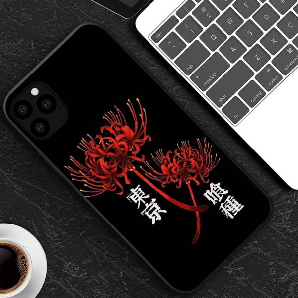 Japanese anime Tokyo Ghoul Japan Suave TPU Phone Case For iPhone XR X XS 11 12 5 - Tokyo Ghoul Merch Store