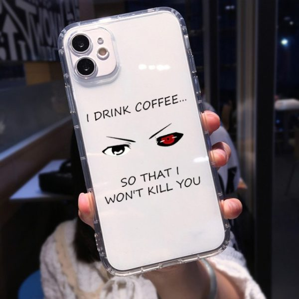 Soft Clear Shockproof Phone Case for IPhone 13 XR X XS 12 11 Pro Max 7 1.jpg 640x640 1 - Tokyo Ghoul Merch Store