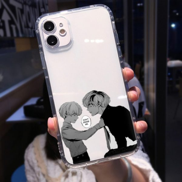 Soft Clear Shockproof Phone Case for IPhone 13 XR X XS 12 11 Pro Max 7 3.jpg 640x640 3 - Tokyo Ghoul Merch Store