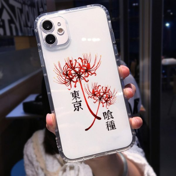 Soft Clear Shockproof Phone Case for IPhone 13 XR X XS 12 11 Pro Max - Tokyo Ghoul Merch Store